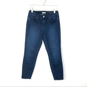 LC Lauren Conrad Skinny Crop jeans medium wash 6
